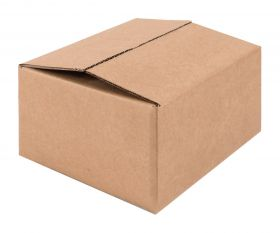 Mailing Box For Small Snap Shut Box - 158 X 135 X 75mm  Kraft