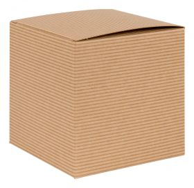 1 Piece Cube Gift Box | Flat packed Multi-Purpose Box  Kraft