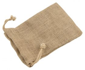 Jute Bag With Drawstring | Pack Of 12  Kraft