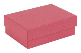 Small / Medium Kraft Recycled Jewellery Box  Red
