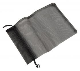 Large Organza Pouch | Ribbon Drawstring  Black