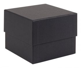 Black Luxury Square Box  Black