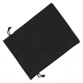 Large Black Cotton Bag