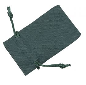 Small Dark Green Cotton Bag