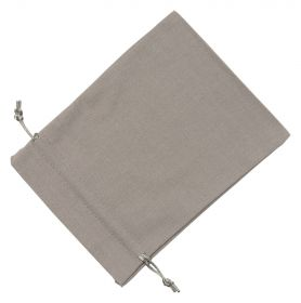 Large Grey Cotton Bag