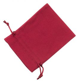Medium Red Cotton Bag