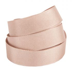 Rose Gold Grosgrain Ribbon