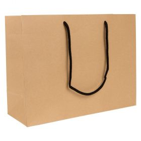 Large Landscape Paper Gift Bag | Rope Handles  Kraft