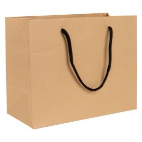Medium Landscape Paper Gift Bag | Rope Handles  Kraft