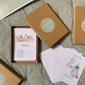 Baby Milestone Card Set