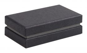 Black and Grey Cufflink Box