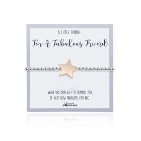 A Little Sparkle for a Fabulous Friend Bracelet