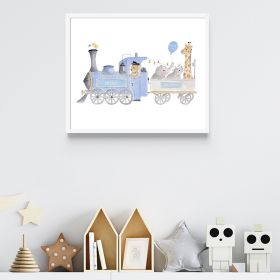 Customisable Train Print