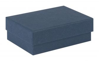 Kraft Navy Blue Earring Box