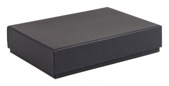 Luxury A6 Gift Box With Foam Insert  Black