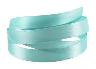 Reel Of Double-Faced Satin Ribbon  Blue