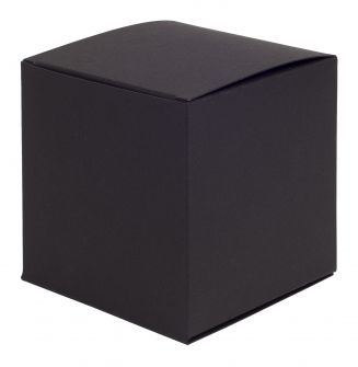 Large One-Piece Square Gift Box  Black