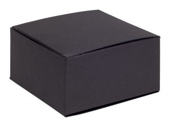 One-Piece Square Gift Box  Black