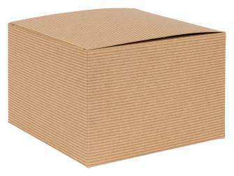 1 Piece Larger Gift Box | Flat packed Multi-Purpose Box  Kraft