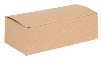 1 Piece Flat packed Pop-Up Box  Kraft