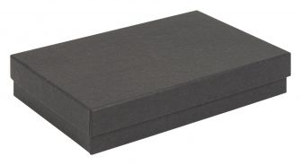 Kraft Multi-Purpose Box | Recycled Jewellery Box  Black