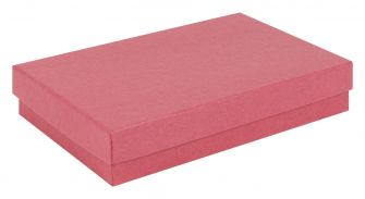 Kraft Multi-Purpose Box | Recycled Jewellery Box  Red