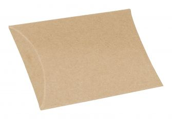 Medium Pillow Box  Kraft