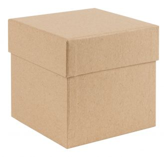 Luxury Cube Box  Kraft