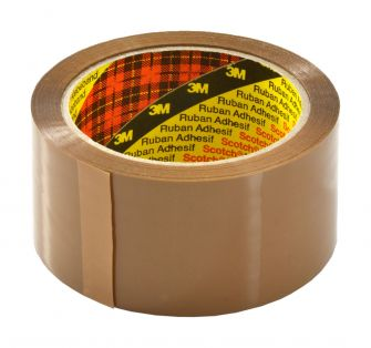Scotch Packing Tape 66 Metre - 1 Roll  Kraft