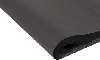 Recycled Tissue Paper | Large  Black