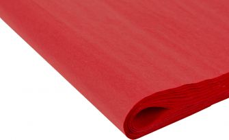 Recycled Tissue Paper | Small  Red