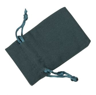 Small Dark Teal Cotton Bag
