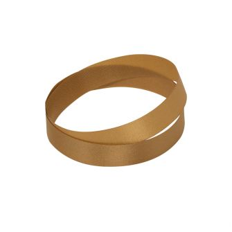 Reel of dark gold wood pulp ribbon, 10mm