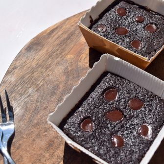 Signature Chocolate Brownie Bites - Vegan, Gluten, Dairy & Soya Free - Box of 12