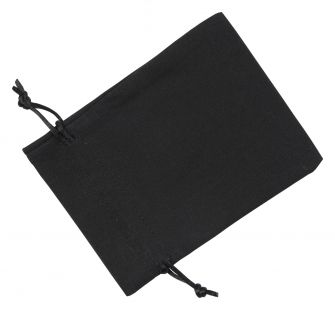 Medium Black Cotton Bag