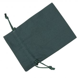 Medium Dark Green Cotton Bag