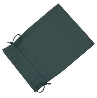 Large Dark Green Cotton Bag