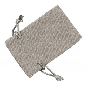 Small Grey Cotton Bag