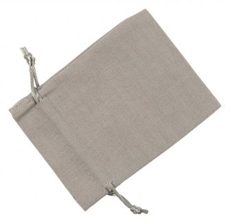 Medium Grey Cotton Bag