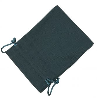 Large Dark Teal Cotton Bag