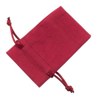 Small Red Cotton Bag