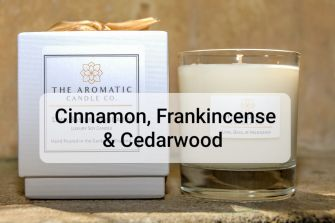 Cinnamon, Frankincense & Cedarwood Candle