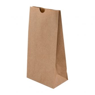 Small Wholesale Coffee Bag Without Window  Kraft