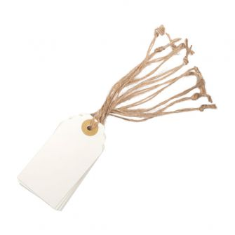 Cream Paper Tags (pack of 10)