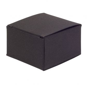 Small One-Piece Square Gift Box  Black