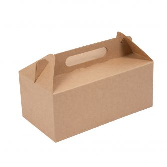 Large Kraft Gable Box | Gable Boxes