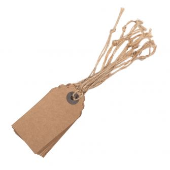 Kraft Paper Tags (pack of 10)