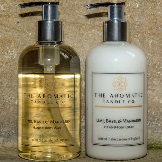 Lime, Basil & Mandarin Hand Wash & Lotion Set