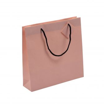 Pink Small Snake Textured Gift Bag