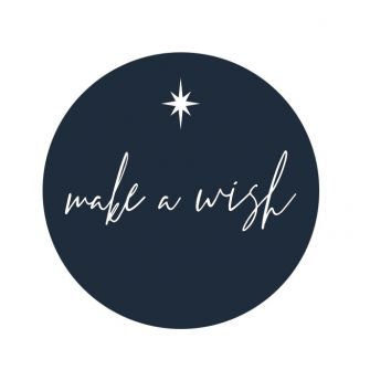 Christmas Label/Tag - Make a Wish